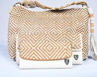 Viatu Woven Handbag Set