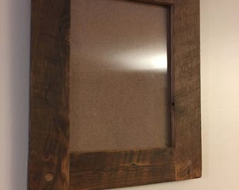"""Barnwood picture frame  8.5""""x 11.5"""""""