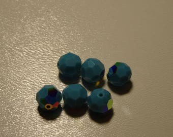 FACETED SWAROVSKI AB 8mm Turquoise