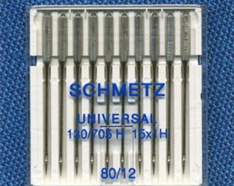 Standard needles Schmetz n. 80 sewing machine