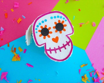 6 Coco Pinata Party Favors,Cinco de Mayo Piñata,Day of Dead,Coco party Favors,Skull Pinata,Coco Movie Party, Mexican Fiesta,First Birthday