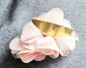 to customize solid brass Bangle Cuff Bracelet