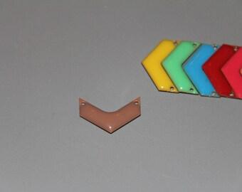 2 connectors emailed Brown herringbone