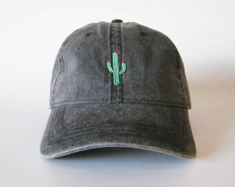 Cactus Cap Embroidered Cap Cactus Hat Dad Cap Dad Hat