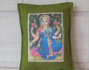 Indian goddess door cushion