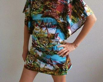 """Set """"Kilimanjaro"""" - designer Rastalafe batwing sleeves"""
