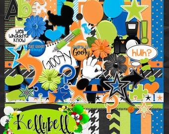 Goofy-Disney Digital Scrapbook Kit