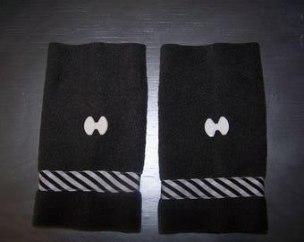 Mittens size M - L fleece, fashion accessory