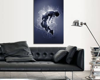 CANVAS ART Contemporary Living Room Art, Abstract Canvas Print, Modern  Freestyle Dancer Wall Art Part 96