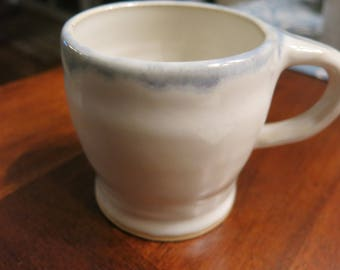 Small Eggshell and Blue coffee/tea cup