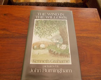 hbdj 1st in this edition 1981 Wind in the Willows kenneth Grahame
