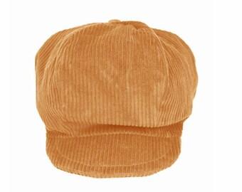 Rasta Beige corduroy - Special Dreadlocks Hat!