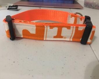 Tennessee Volunteers Inspired Dog Collar