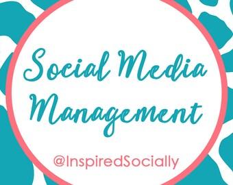 Social Media Management - Social Media - Facebook - Instagram - LinkedIn - Pinterest - Twitter - Marketing - Virtual Assistant