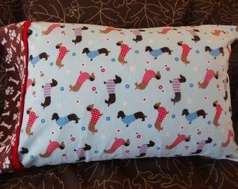 Dachshunds on Parade Pillowcase