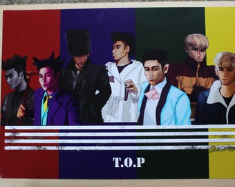 Big Bang Made Series Fanart- T.O.P