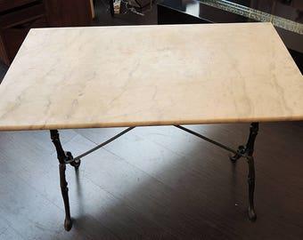 Retro marble table