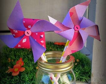 Windmills of decoration