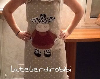 Country style handmade apron