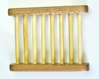 Soap Saver, Soap Dish, Soap Ladder, Soap Dish Ladder, Bathroom Accessory, Soap Rest, Natural Wood, Eco Friendly Product, Vegan Product. UK