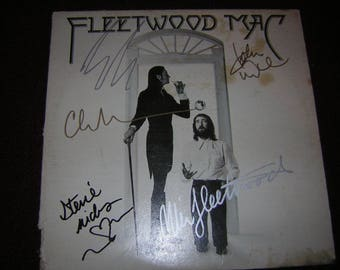 Fleetwood Mac Signed self Titled 1995 Stevie Nicks