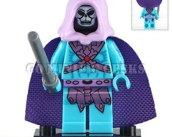 Custom Skeletor 1983 Minifigure Masters of the Universe MOTU Fits Lego UK Seller