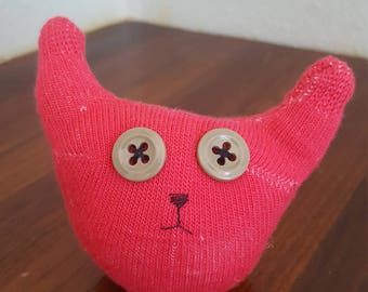 Small Pink Sock Doll