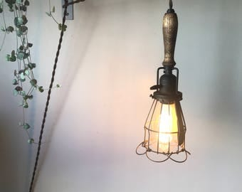Industrial Pendant Light from Rejuvenations