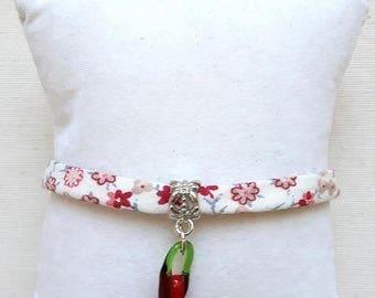 Bracelet Liberty 1 pepper glass