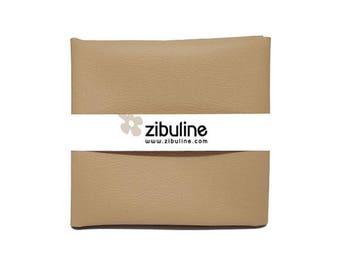 Faux leather cord - 45 x 50 cm - Color Desert coupon