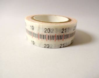 Washi tape tape white stitching - masking tape - Scrapbook - embellishment