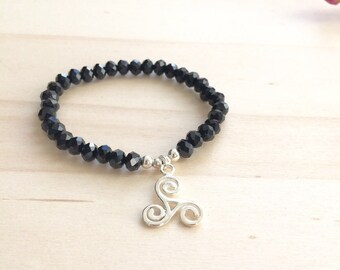 Bracelet has Sterling Silver 925 beads