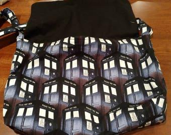TARDIS Doctor Who messenger bag