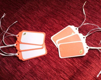 Set of 6 gift tags for Christmas