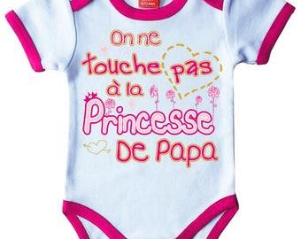 "Pink Bodysuit original humor ""it is not Daddy's Princess"""