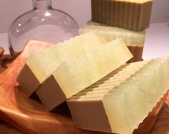 Eucalyptus & Green Tea w/Peppermint Shaving/Bar Soap