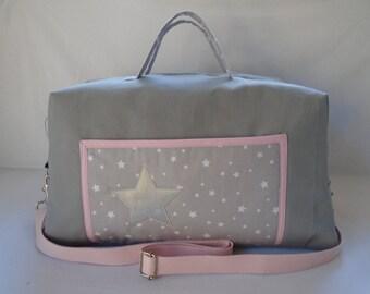 CUSTOM bag has diaper