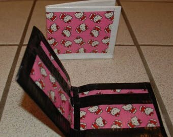 Hello Kitty Bi-Fold Duct Tape Wallet