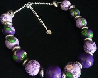 """Jewelry set """"here is spring"""""""