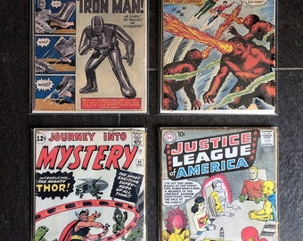 Classic Comic Book Cover Art Issues Silver Golden Age Books