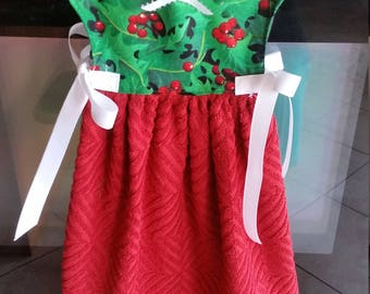 Christmas decorative towel