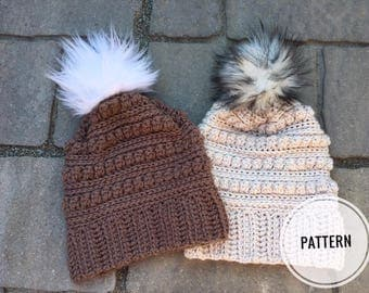 Crochet Pattern-Morkie Beanie Pattern-Crochet Hat-Winter Hat Pattern-Crochet-Women and Men-Beanie- Beanie pdf file