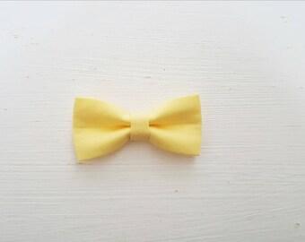 """Hair clip big bow with """"Sun"""""""