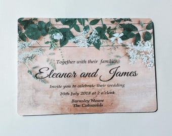 Baby's-Breath Invitation Set *SAMPLE*