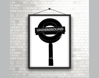 Underground Sign London