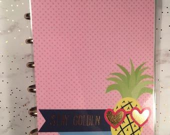Mini Gold Foil Pineapple Cover