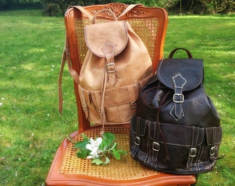 Classic vintage rucksack