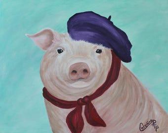 Picasso the pig
