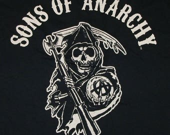 SONS of ANARCHY Black T-shirt Size XL New With Tags