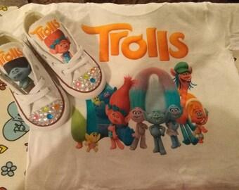 Troll Converse & shirt